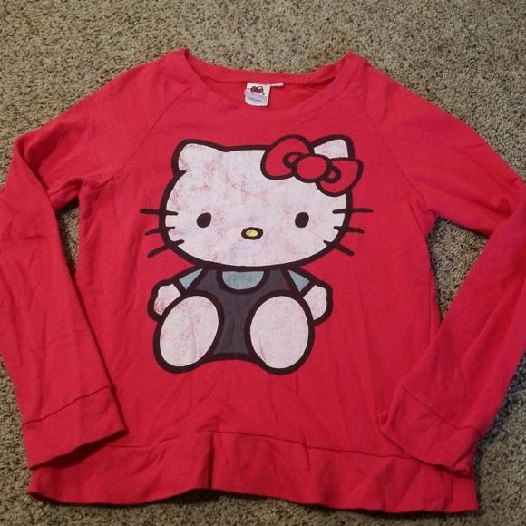 Hello Kitty Tops - Hello Kitty Crewneck Sweatshirt